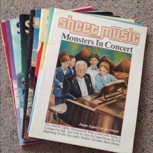 Other - Sheet Music Magazine 10 pc.